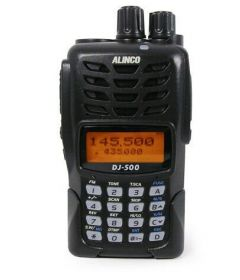 Alinco DJ-500 Dual Band VHF/UHF Transceiver for PPG