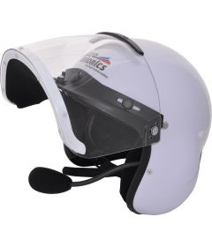 Integral Helmet with internal GA headset