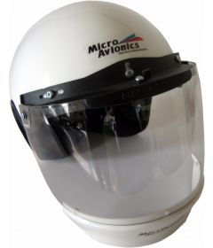Helmet with Visor, visor lock and plastic AirDam